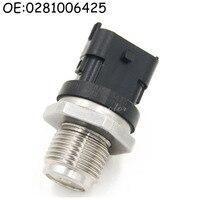 Fuel Rail Pressure Sensor For Dodge Cummins Diesel 5 9L Replace 0281006425 0281002851 5093112AA 904 309