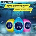 Q520S IP68 A Prueba de agua Smart Kid Reloj Wifi Alarma Localizador GPS de Seguimiento de Reloj Teléfono SOS Tracker Monitor de Sueño Del Bebé Regalo Reloj