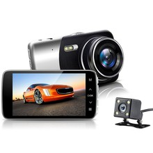 цена на Dash Cam 4 LCD IPS Screen Car DVR Car Camera FHD 1080P 170 Degree Wide Angle  Camera Recorder with G-Sensor,Night Vision,WDR