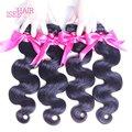 Productos para el cabello rosa pelo virginal malasio 7a onda del cuerpo 4 bundles ali moda pelo, isee vishine angel grace malasia cuerpo onda