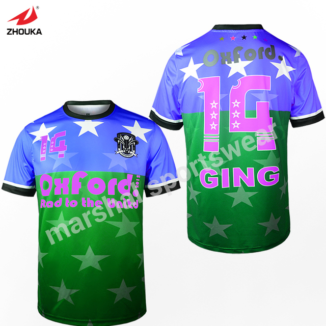 a3d3fa3f253 Full deepth customization sublimation OEM soccer football jersey t-shirt  thai quality Top quality personalised