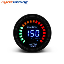 Dynoracing 52 мм 2 дюймов ЖК-цифровой датчик температуры воды с датчиком температуры воды датчик Автомобильный измеритель YC101341