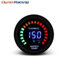Original Logo 52mm 2 Inch LCD Digital Water Temp Gauge With Sensor water Temperature gauge car meter  auto gauge  YC100095