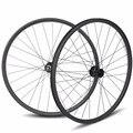 27.5er MTB карбоновые с прямыми закраинами/Асимметричная бескамерные шины для DH/AM/XC/Enduro горный велосипед 650B колесной 24/27/30/35/40 мм Ширина