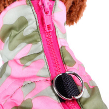 Classic Dogs Colourful Puffer Coat For Winter