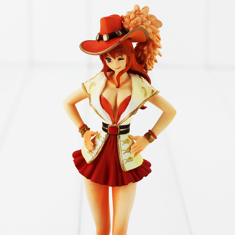 Doll Figure One-Piece Sexy Sales-Toys 18cm Anime Hot Girl Cartoon PVC 7-Nami Gift Anniversary