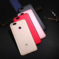 For xiaomi mi 5x mi5x metal battery back cover m5x black back cover with buttons, lenses . rear cover .