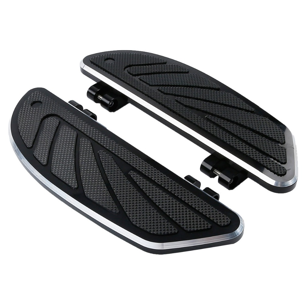Motorcycle Airflow Rider Footboard Extensions For Harley FL Softail Touring Electra Glide