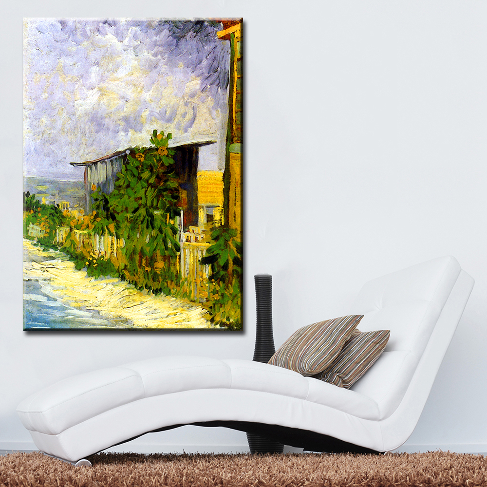 MEGAPIX Home Decoration Printing on Canvas Vivid Landscape Shelter ...