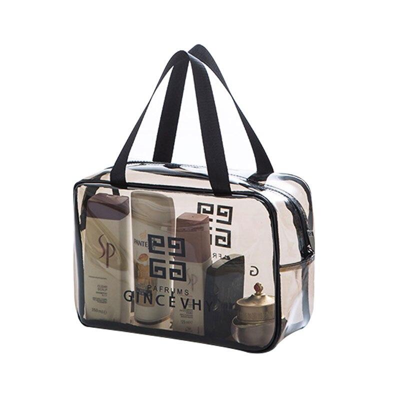 3 Size Travel PVC Transparent Makeup Bags Waterproof s