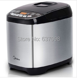 china Midea AHS20AC-PASY bread maker 750-1000g household Stainless steel jam making yogurt rice wine automatic noodles dough