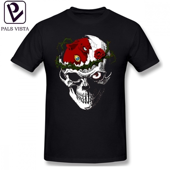 Skull T Shirt Berserk T-Shirt Basic 100 Percent Cotton Tee Shirt 5x Funny Short Sleeve Print Male Tshirt