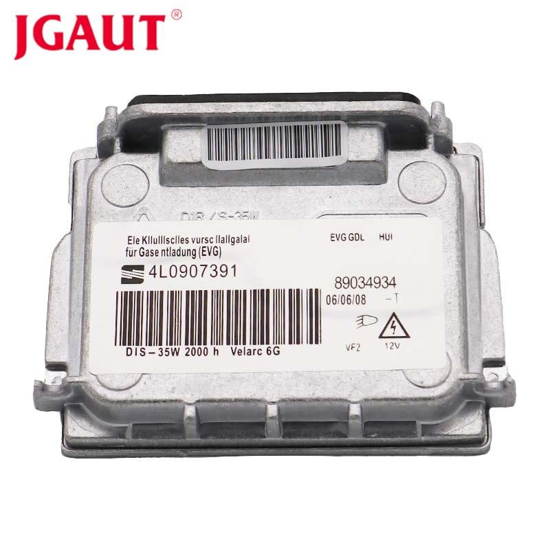 JGAUT Xenon HID Headlight Ballast Wires Unit D1S Canbus Error Free Controller For BMW Audi VW GMC Volvo Valeo 89034934 4L0907391