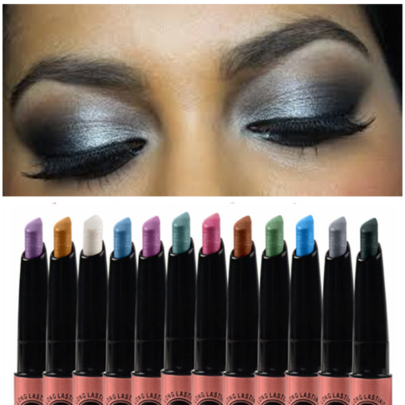 Makeup Cosmetic Music Flower Highlighter Eye Shadow Pencil Shimmer <font><b>Eyeshadow</b></font> Pigment Stick <font><b>Pen</b></font> <font><b>Eyeshadow</b></font> Single Color Pigment image