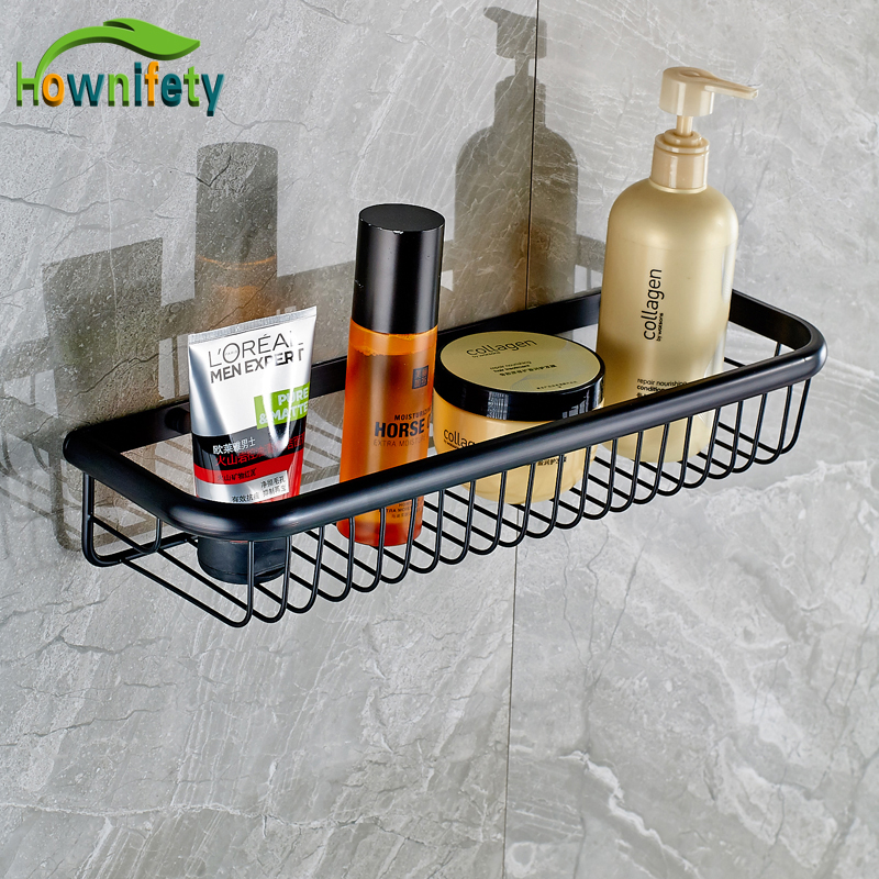 Best Quality Oil Rubbed Bronze 45cm Bathroom Shelf Bathroom Basket Storage Holders Wall Mount allen roth brinkley handsome oil rubbed bronze metal toothbrush holder