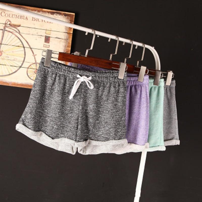 2016 casual summer plus size micro mini shorts fitness feminino Drawstring athletic Elastic Regular shorts women