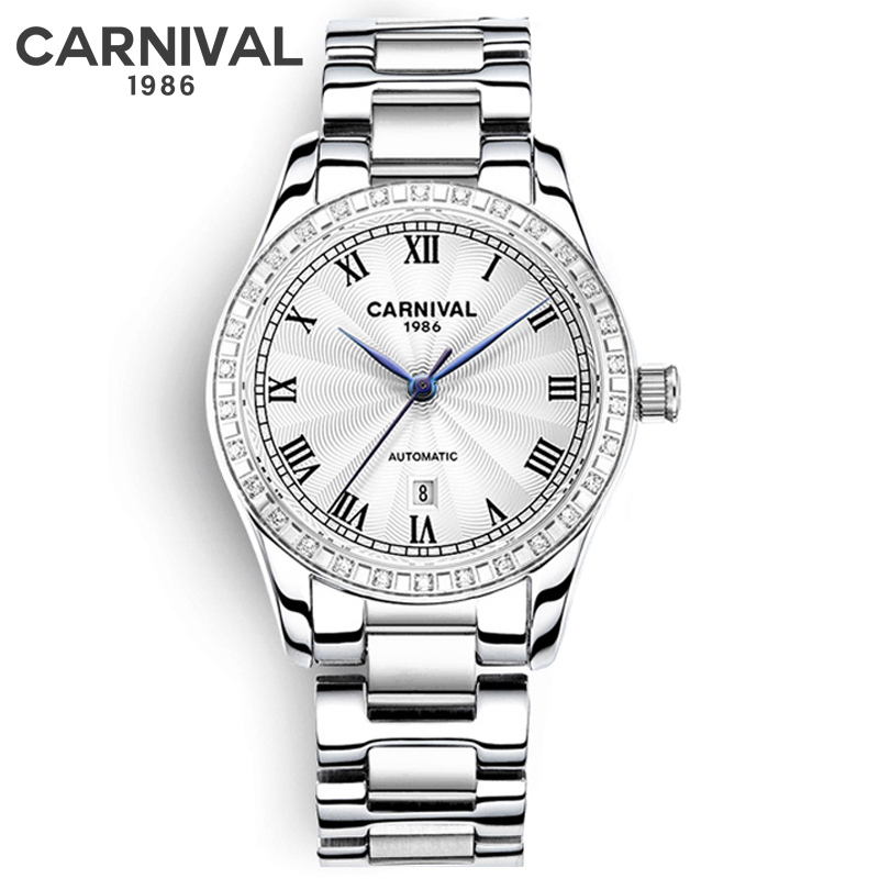 Watch Women Watches Ladies Creative Steel Bracelet Watches Female Automatic Mechanical Clock Relogio Feminino Montre Femme