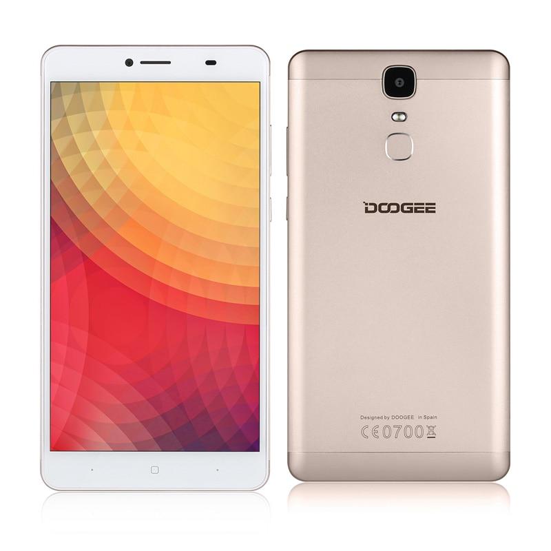 Цена за Y6 Doogee Макс 6.5 Inch FHD 3 ГБ + 32 ГБ Android6.0 Отпечатков Пальцев мобильные телефоны Dual SIM MTK6750 Qcta Core 13.0MP 4300 мАч 4 Г Смартфон