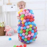200 шт./лот пластик океанская волна мячи для сухого бассейна желтый красный розовый шары для пула игрушки для детей Взрослые пластиковые шары...
