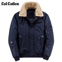 Hot Sale Mens Winter Jacket Fur Collar Design Mens Parkas Thick Warm Popular Outwear Casual Jackets Men Coat Cotton Parkas Male