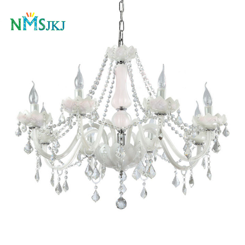 6/8/10/12/15/18 Lights Modern Jade Color Glass Lamps Transparent  K9 Crystal Candle Chandelier for Living Room Restaurant Lounge6/8/10/12/15/18 Lights Modern Jade Color Glass Lamps Transparent  K9 Crystal Candle Chandelier for Living Room Restaurant Lounge