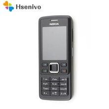 Original Nokia 6300 Mobile Phone Classic Cellphone 6300 Gold