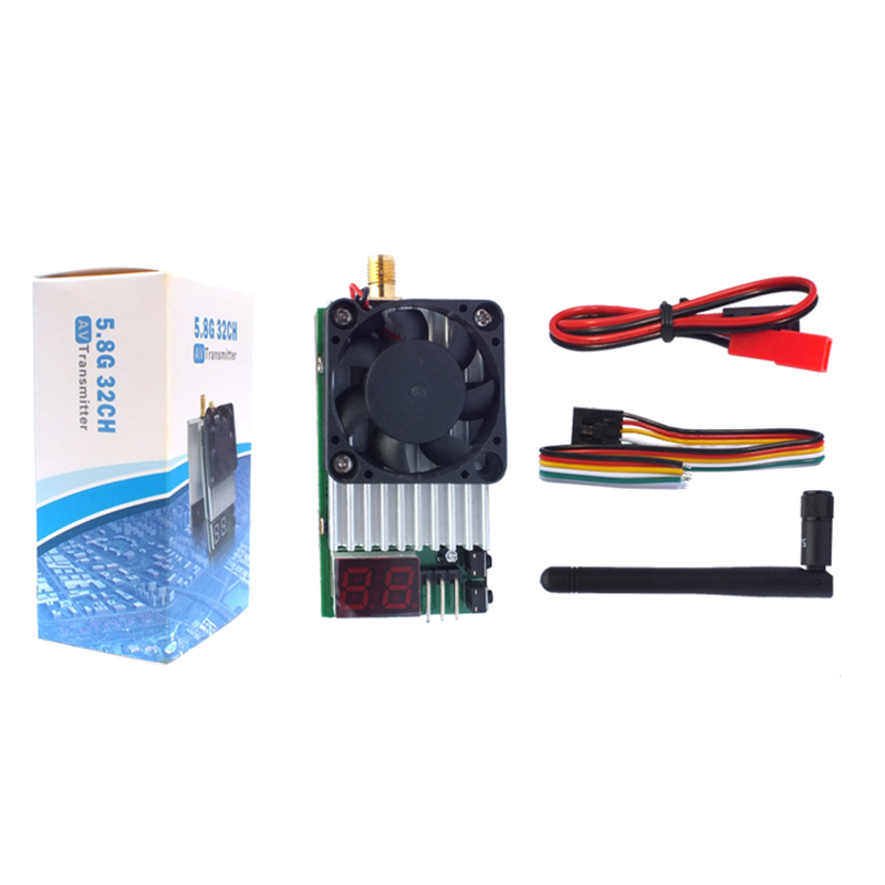 New Boscam 5.8G 5.8Ghz 32CH 1500mw TS800 FPV Wireless AV Mini Transmitter Tx with antenna/LED Display Support AAT Tracking aat convert module for other brand osd the newest skylark automatic aerial conversion antenna tracking cooperate with use new