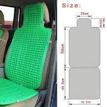 Подушки сиденья автомобиля летняя Пластик дышащая Прохладный Авто микроавтобус крышка стула Лето Пластик дышащая Cool сиденья