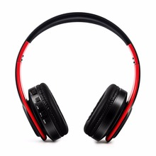 Stereo Bluetooth Headphone Red Color