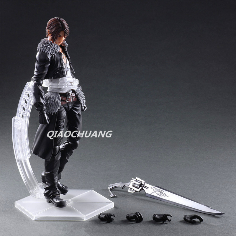 Paly Arts Kai FINAL FANTASY DISSIDIA Squall Leonhart GunbladePVC Action Figure Collectible Model Toy Boxed W162