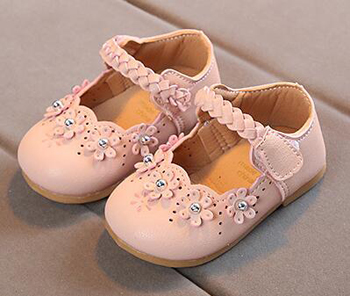 Little Girls Shoes Princess Toddler Spring Autumn Shoe Nina Sapatos Braid Strap Flower Mary Janes Formal Wedding Cheap Chaussure