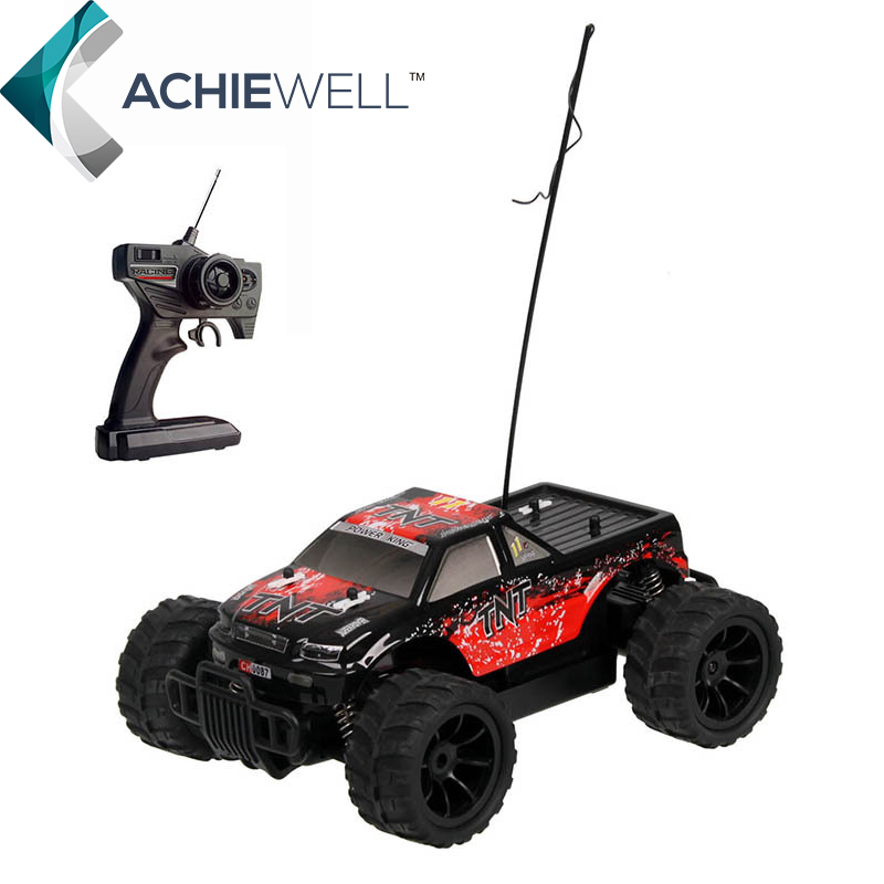 ФОТО Brand RC Power Trucks Remote Control Hight Speed Cars Off Road Racing Car Wireless Tournament Handle Control Gift