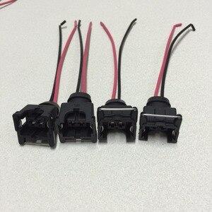 Image 1 - 4 قطعة للماء EV1 حاقن وقود المقابس موصل ل bosch440cc 650cc 850cc 1000cc حاقن وقود مع دبوس و سلك