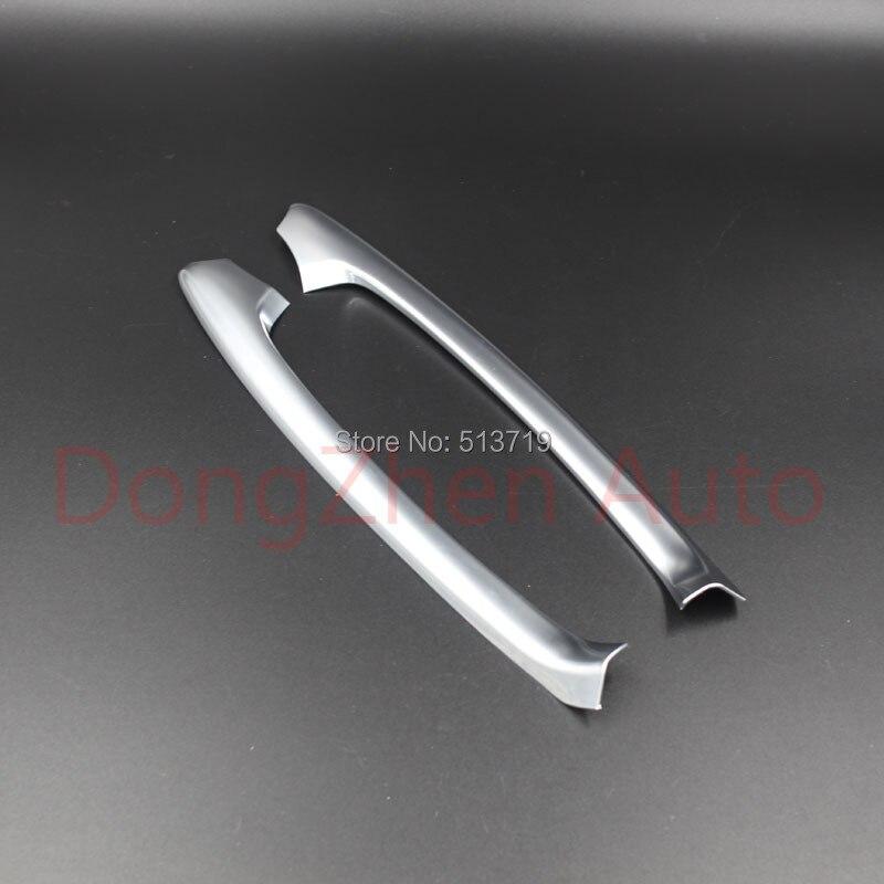 Prix pour Abs Chrome garniture accoudoir poignée de porte accoudoir décoration accessoires Fit pour Mazda cx - 2.0 CX5 2012 - 2014 2 pcs par set