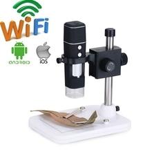 1000X WIFI Digital Microscope Wireless Electronic Microscope Industrial Microscope Camera PCB Inspection Scalp Skin Detector цена 2017