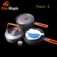 2 3 Person Cooking Pot Camping Cookware Outdoor Pots Sets Feast2