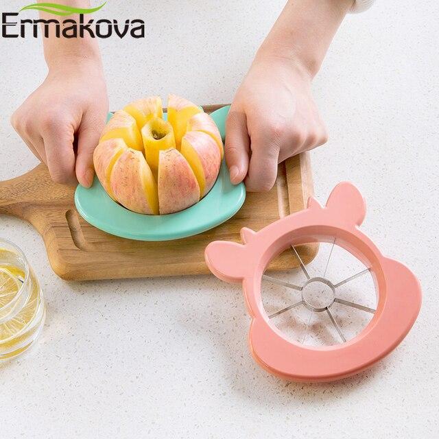 Cortador de frutas en gajos disponible en dos colores