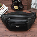 2016 New Hot sale Genuine Leather Male Fashion Style  Belt Bag Men for Travel  Fanny Pack  coffee Retro Waist Bag
