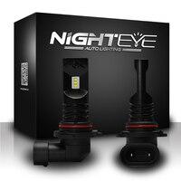 NIGHTEYE 9006/HB4 LED Fog Light Bulb 80W 1600LM 6500K White Car Light Bulb LED Fog Light Bulb Replacements Auto Headlights Bulb