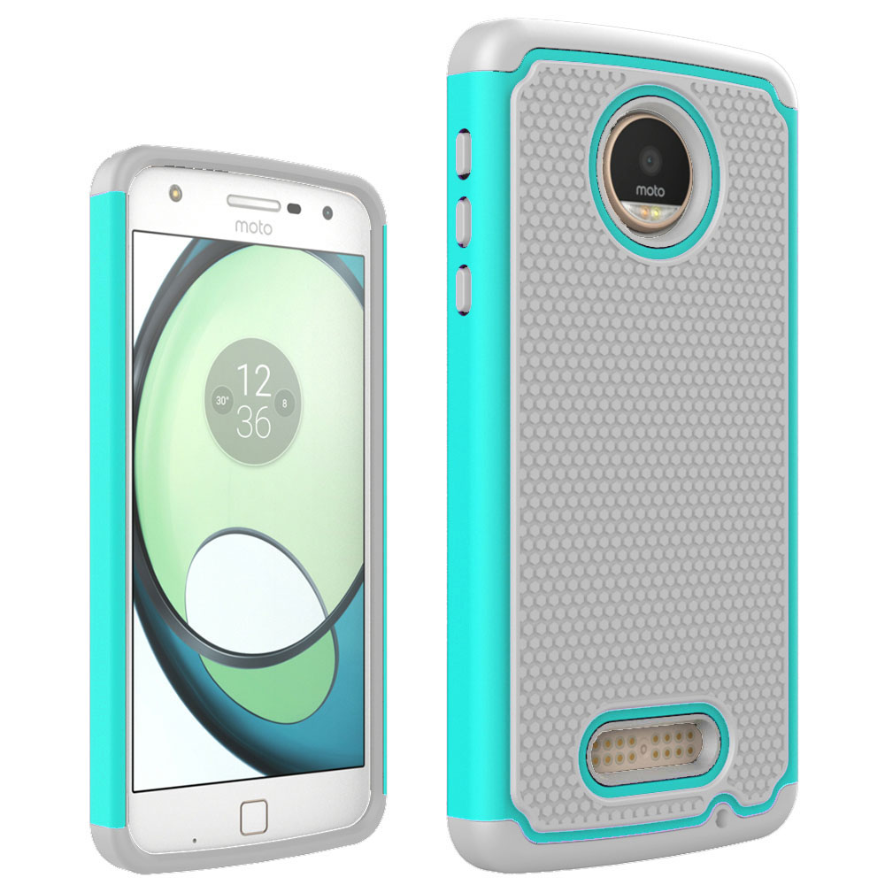 low priced e527c 7276c US $2.54 15% OFF For Motorola Moto Z Play Armor Case Hybrid Shockproof  Impact Cover Silicone Phone Cases For Motorola Moto Z Play Droid @-in  Fitted ...