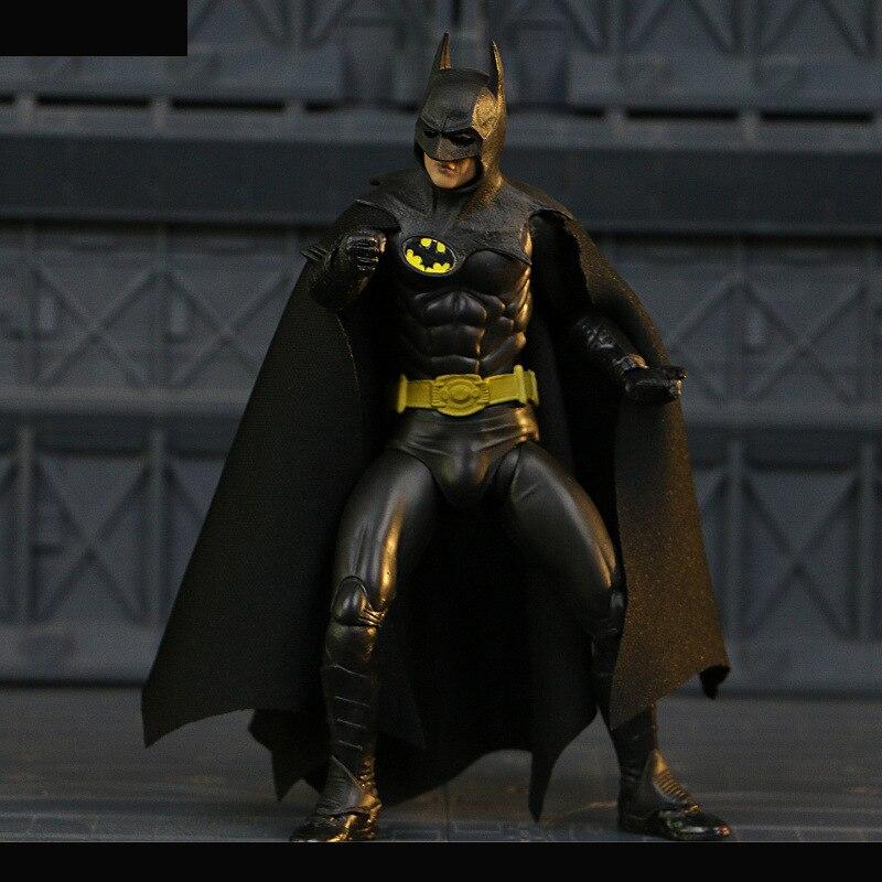 NECA 1989 Batman Michael Keaton 25th Anniversary PVC Action Figure Toy