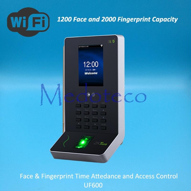 ZK 1200 Face Time Attendance Fingerprint Time Attendance Wifi Biometric Desk Face Time Recording Attendance System