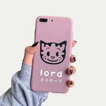 TPU Cute Soft Case For iPhone X XS XR Xs Max 7 Phone Cat Pattern Cover 5 5S 6S 8 Plus Cartoon