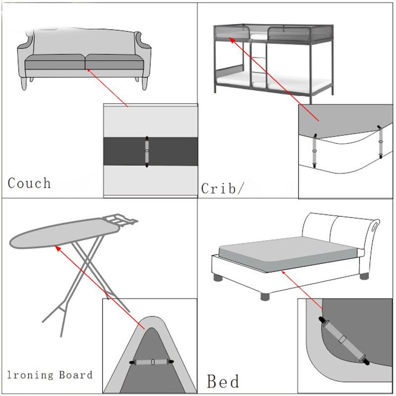 Слинг закрепительный зажим металлический зажим ремень зажим для листов мебельные зажимы металлический держатель эластичная лента