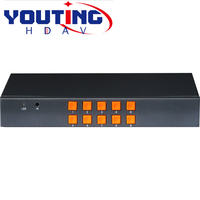 YOUTINGHDAV YT FH21 CVBS VGA HDMI 2x2 Multi Viewer 1080P60HZ SWICHER HD Video Synthesizer
