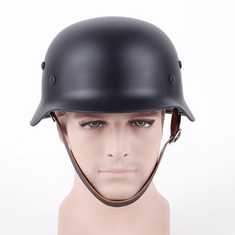 ¡Novedad! casco protector de seguridad para hombres, casco de acero inoxidable con cuero, suministros de seguridad para el trabajo, casco de seguridad