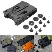 Holster-Attachment Belt-Clip Portable-Tool Scabbard Camp Sheath Fixed-Kit EDC Tek-Lok
