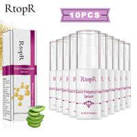 RtopR 24K Gold Polypeptid Serum Anti-aging Hyaluronsäure Bleaching Reparatur Haut Gesicht Pflege Anti Hautpflege 10 teile/satz