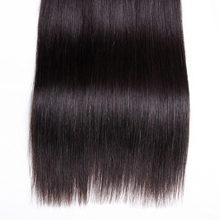 blinghair Peruvian Straight Virgin Unprocessed Human Hair 3 Bundles Pack Nature Black For Salon High Ratio Longest Hair PCT 30%