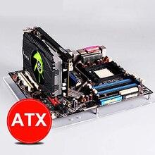 PC açık çerçeve Test tezgahı ITX Mini ITX anakart akrilik Overclock bilgisayar kasası DIY Mod taban standı